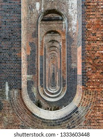 Ouse Valley Viaduct Hypnotic brick ovals