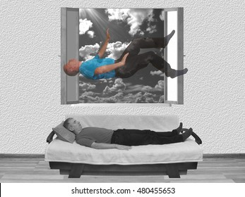 Out of body experience, astral projection, lucid dream, near death experience