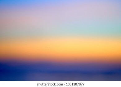 Out of focus abstract background of beautiful sunset on Bali.