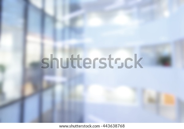 Out Focus Blurred Office Background Large Royalty Free Stock Image