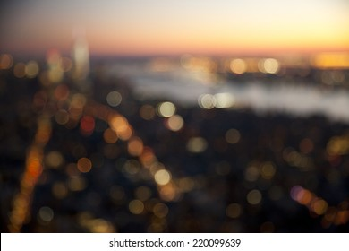 Out of focus bokeh lights.  Great for backdrop or background.