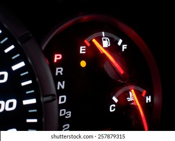 Out of gas, empty
