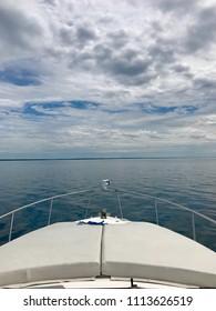 Out on Lake Michigan