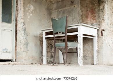 out of order desk