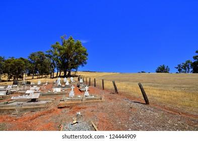 Outback Australia Graveyard