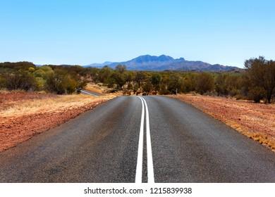 Outback Road, Northern Territory, Australia