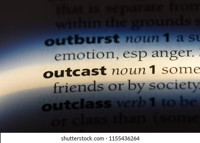 another word for social outcast