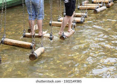Outdoor Activities wading game background