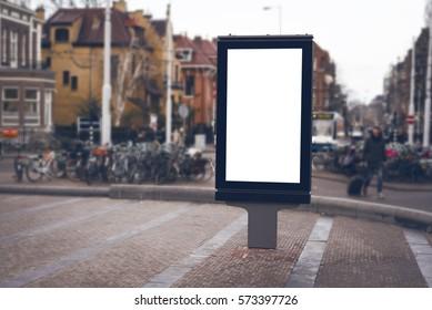 outdoor advertising abri billboard