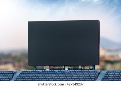 Outdoor Advertising Billboard LED for advertising in stadium at city