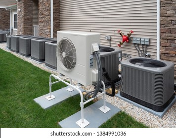 Outdoor air conditioning and heat pump units
