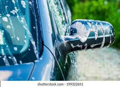 Outdoor car wash