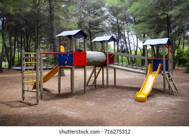 Outdoor children playground