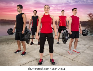 Outdoor class of body pump