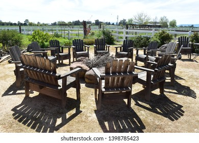 Outdoor farm firepit Northern California