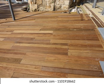 outdoor flooring Ipe hardwood.