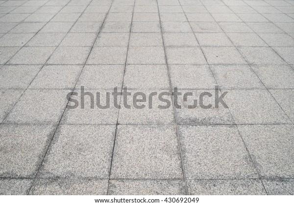 Outdoor Grey Terrazzo Tile Floor Dirty Stock Photo Edit Now