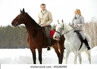 Outdoor  horseback rding