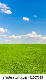 Outdoor Landscape Field