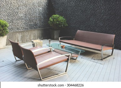 outdoor luxury furniture. Modren Luxury Outdoor Luxury Bench In Smoking Area Zone With Luxury Furniture