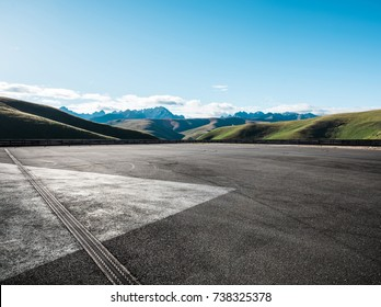 Outdoor parking lot
