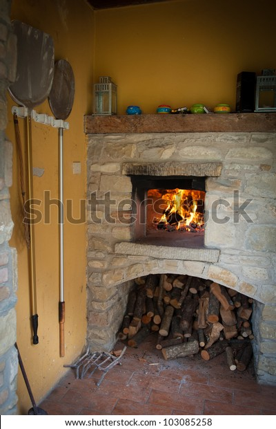 Outdoor Pizza Oven Stock Photo Edit Now 103085258