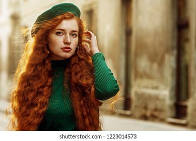 Congratulate, curly natural redhead