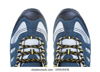 outdoor shoes - isolated