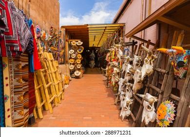 Outdoor shop in Santa Fe
