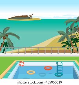 cartoon swimming pool images stock photos vectors shutterstock rh shutterstock com cartoon swimming pool pics cartoon swimming pool party