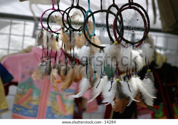 outdoor tourist market