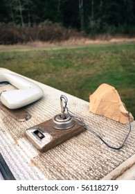 Outdoor vintage case with key