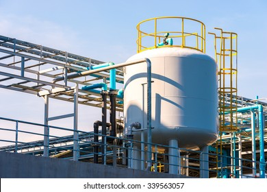 Outdoor Water tank storage, for industrial and factory