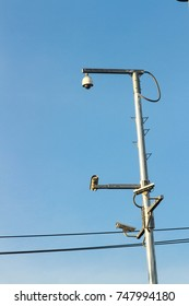 Outdoor waterproof ip security surveillance video camera.