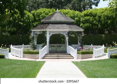 outdoor wedding gazebo