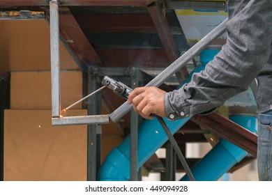 Outdoor welding