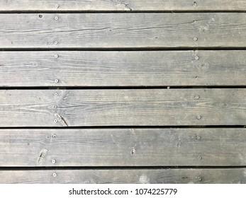 Outdoor Wooden Floor Texture Background Old Wood Plank Flooring