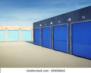 Outdoors storage units , Self storage facility