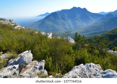 Outeniqua Mountains in the Garden Route, South Africa