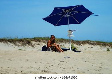 Outer Banks Beach Seascape