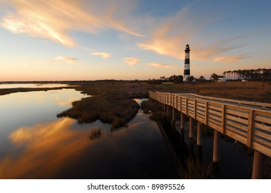 Outer Banks Bodie Island Lighthouse Cape Hatteras National Seashore