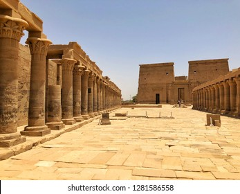 The Outer Court at the Temple of Philae