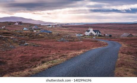 Outer Hebrides Scotland Rural Life