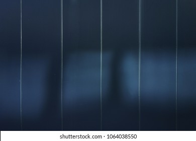 The outer wall of the black steel plate