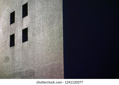 Outer wall of  building