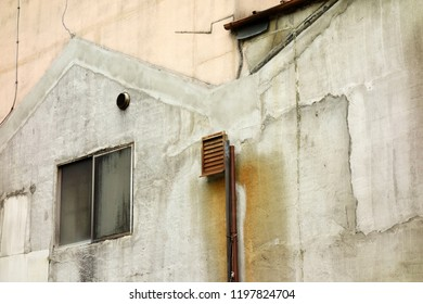 Outer wall of old building