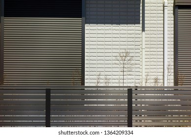 Outer wall siding and fence