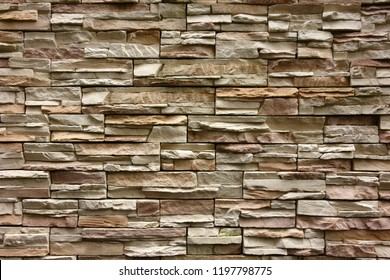 Outer wall stone siding