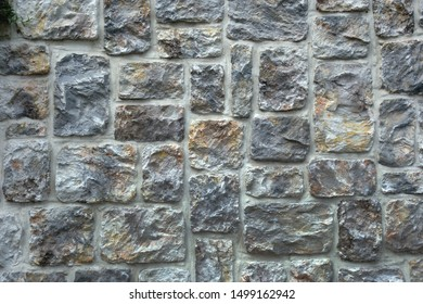 Outer wall stone siding background