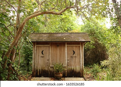 Outhouse at an Historic House in the Gardens